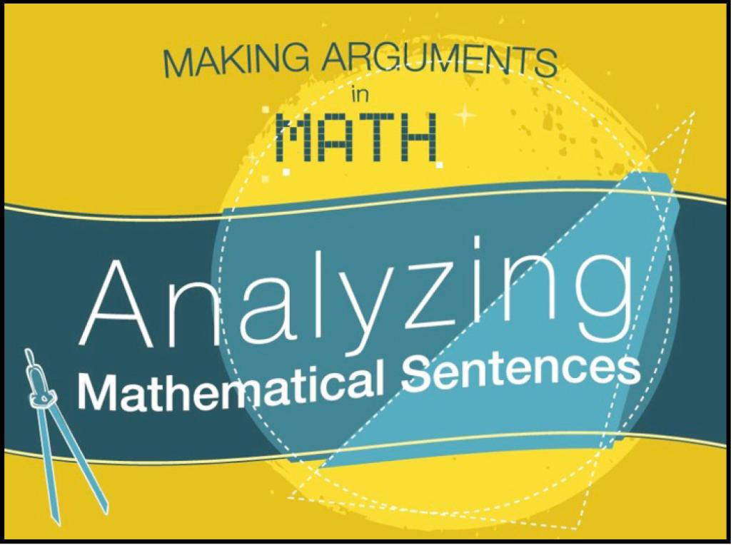 Analyzing-math-sentences