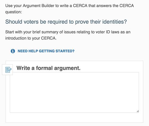 Formal Argument