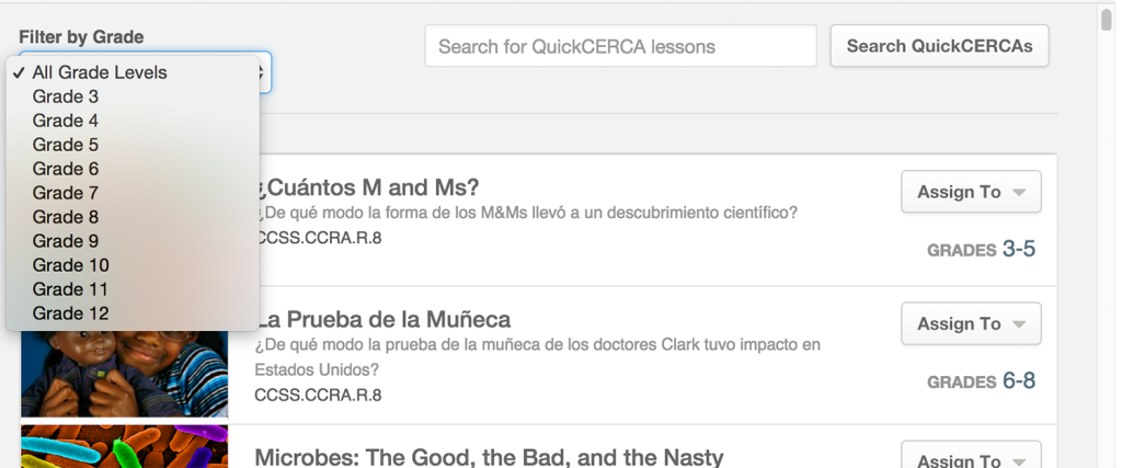 QuickCERCAs-Filter-By-Grade