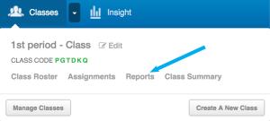 classes reports1