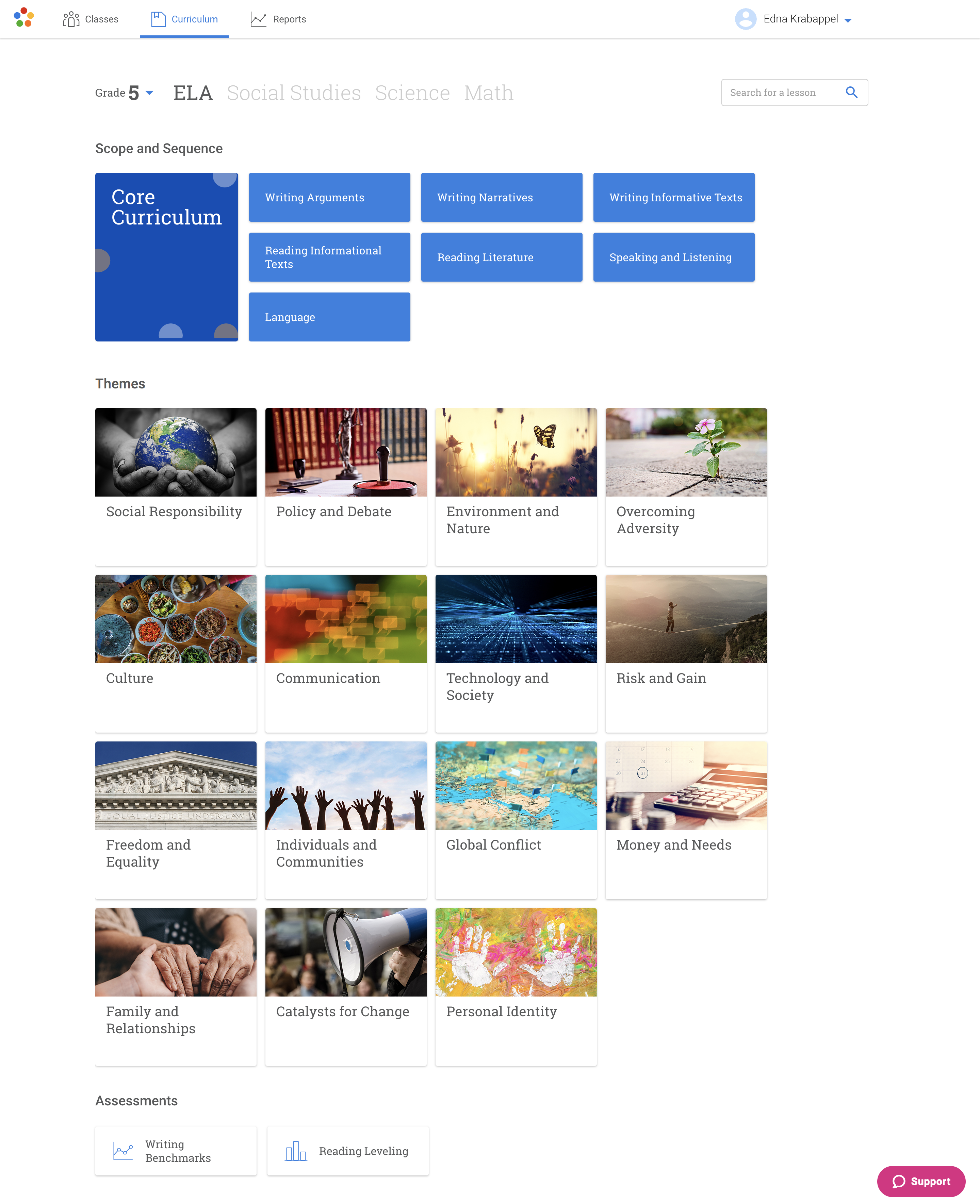 curriculum-page